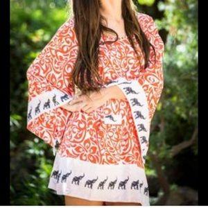 Miska designs tunic or coverup EUC